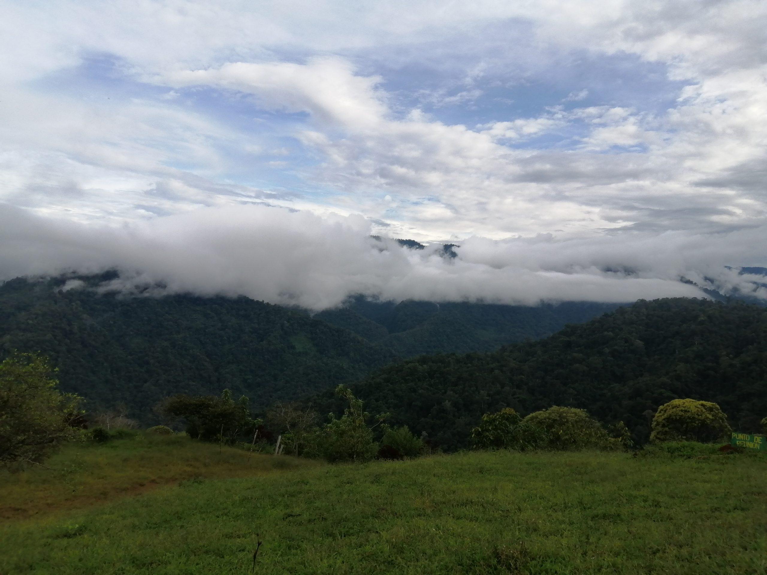 ÖkamaSuei5-Paisaje desde las montañas de Alto Pacuare